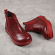 Autumn Red Women's Ankle Boots |Gift Shoes