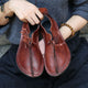Autumn Comfortable Retro Leather Women's Flat Shoes