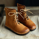 Autumn Retro Handmade Leather Martin Ankle Women's Boots | Gift Shoes