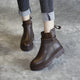 Autumn Winter Handmade Leather Casual Martin Women's Boots | Gift Shoes