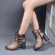 Autumn Winter Vintage Leather Comfortable Short Boots | Gift Shoes 37-42