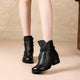 retro shoes women, chunky boots, black boots
