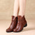 black boots, autumn boots women, chunky heels