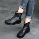 Autumn Winter Retro Leather Women's Boots 35-42 | Gift Shoes