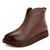 Autumn Winter Soft Leather Bottom Women's Handmade Boots