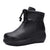 Autumn Winter Thick Leather Warm Comfortable Cotton Women's boots