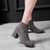 Autumn Winter Women's High Heels Leather Short Boots