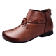 Comfortable Soft Leather Women's Short Boots