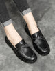 Genuine Leather Bowknot Spring Flat Shoes