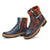 Handmade Leather Vintage Ethnic Women's Winter Boots 36-42