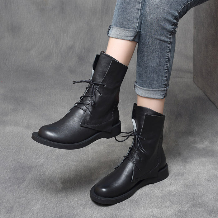Gift Shoes Autumn Winter Handsome Cool British Style Martin Boots