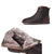 Gift Shoes Handmade Retro Leather Woven Warm Women's Boots