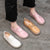 Cow Tendon Comfortable Casual Big Size Shoes 34-43