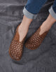 Retro Handmade Leather Comfortable Flats