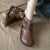 Retro Leather Comfortable Handmade Boots