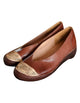Sheepskin Retro Leather Closed Toe Flat Shoes