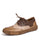 Spring Brock Oxford Genuine Leather Flat Shoes