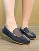 Spring Flat Bottom Leather Casual Shoes Loafers