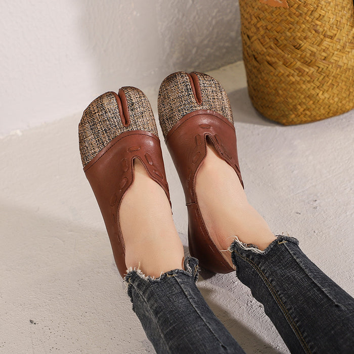 Spring Handmade Slip-On Soft-Soled Retro Flats