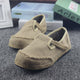 Spring Handmade Cloth Square Head Casual Cloth Shoes 35-44