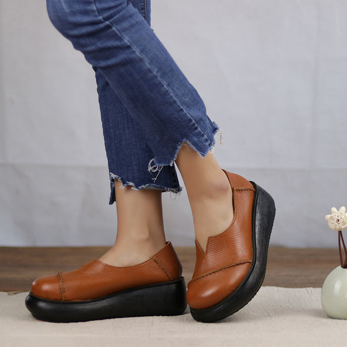Spring Retro Wedge Women's Shoes | Gift Shoes
