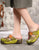 Summer Platform Retro Ethnic Slippers 35-42