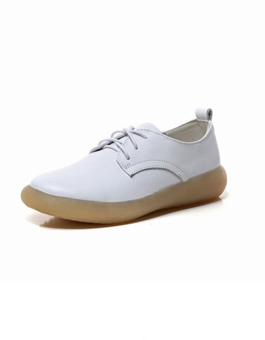 Spring Comfortable Casual Flat Shoes White