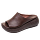 summer brown sandals, womens slippers