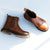 Vintage Leather Fashion Women's Ankle Boots