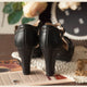 Vintage High-Heeled Waterproof Women's Sandals | Gift Shoes