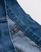 Washed Denim Fashion Vintage Blue Jeans