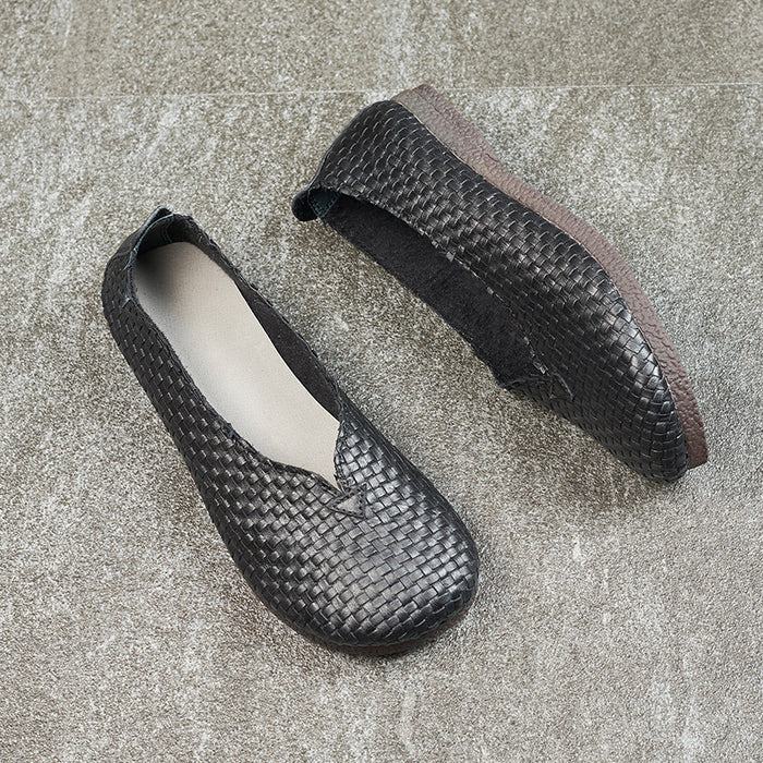 Weave Retro Women's Comfortable Flats