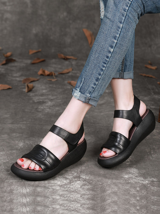Wedge Heel Retro Summer Women's Sandals