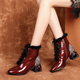 Winter Velvet Cotton Fashion Chunky boots| 34-42