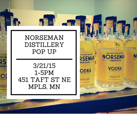 Minneapolis Popup Event at Norseman Distillery Made in Minnesota