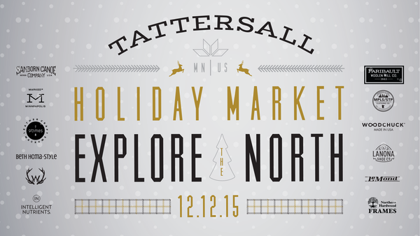 Tattersall Holilday Popup Shop, Minneapolis MN