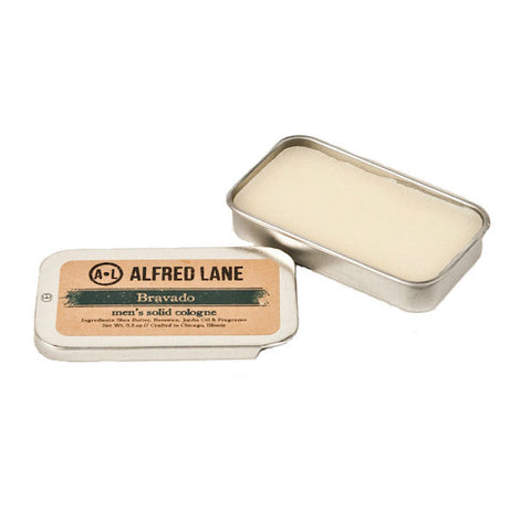Alfred Lane Solid Cologne Bravado, Made in USA