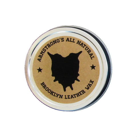 Armstrong's All Natural Leather Wax Made in America