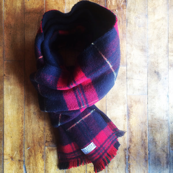 William Rogue, Wool, Plaid Scarf | Made in America