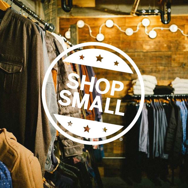 Shop Small Business Saturday, with Atmosfere, William Rogue and Marked Leather