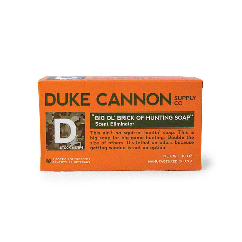 Duke Cannon Big O'l Brick of Hunting Soap with Scent Eliminator | Made in America