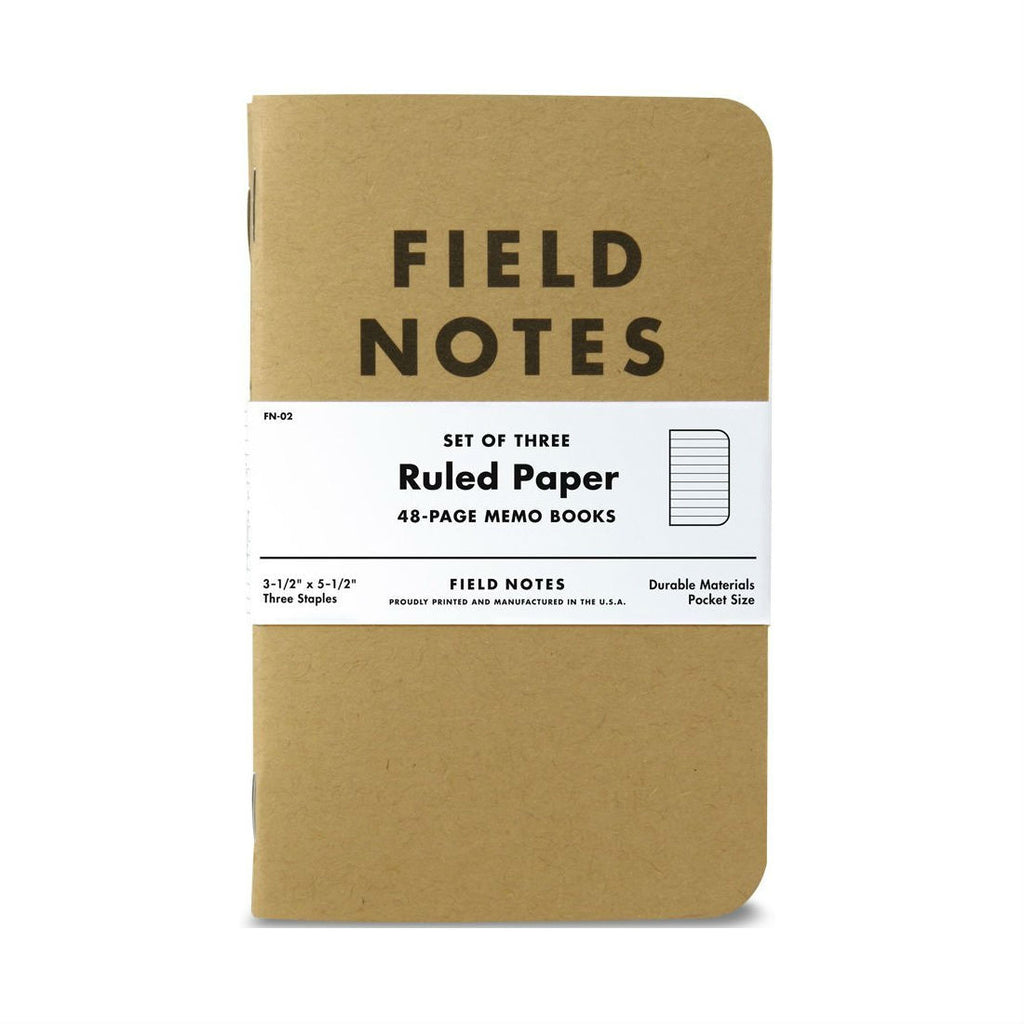Field Notes Original 3-Pack, Made in USA