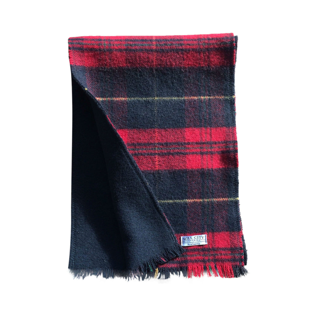Mill City Fineries Traditional Wool Scarf | Made in America