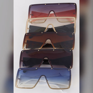 Hollywood Sunglasses (Blue)