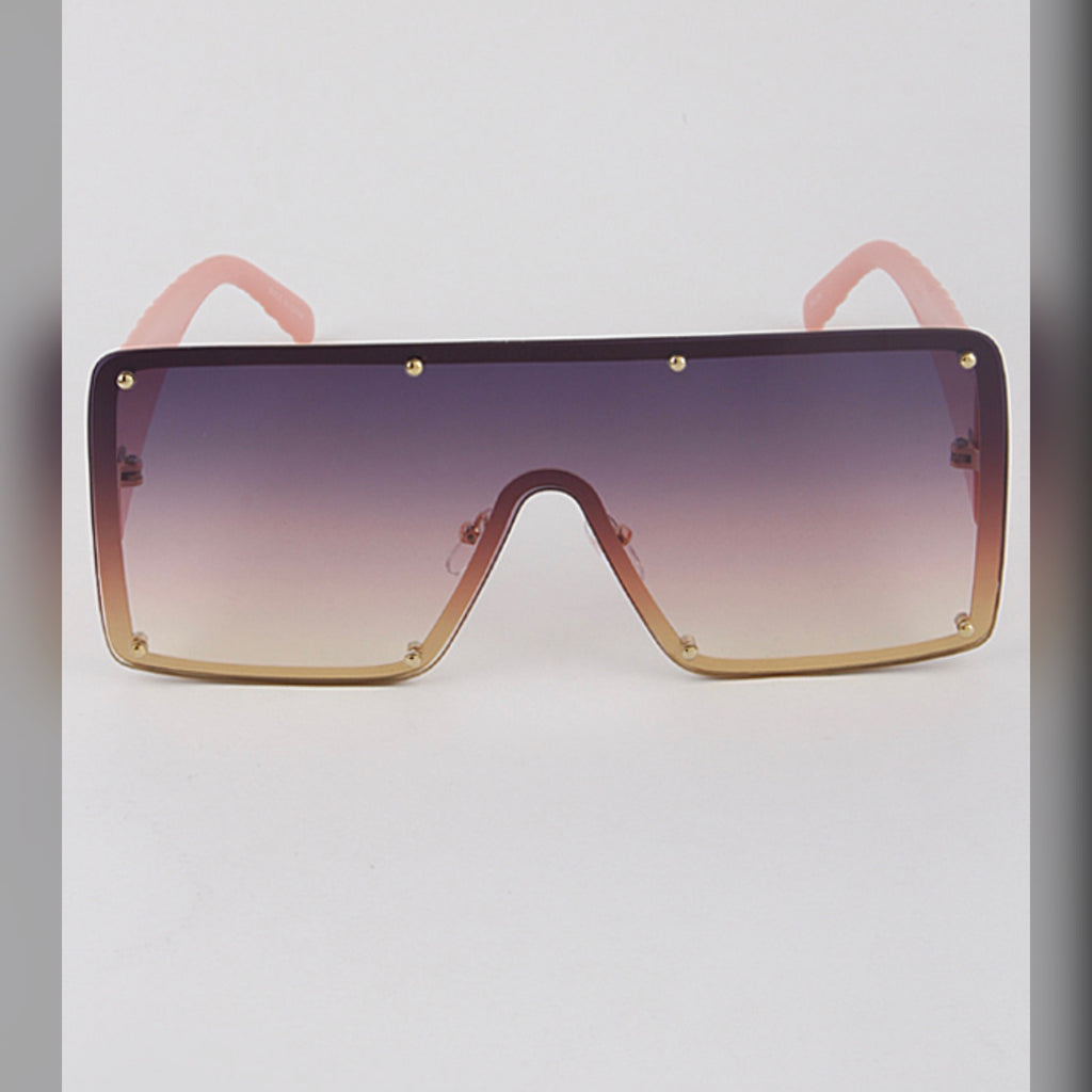 Hollywood Sunglasses (Pink)