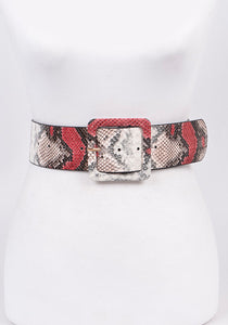 Rattle Belt (Burgundy)