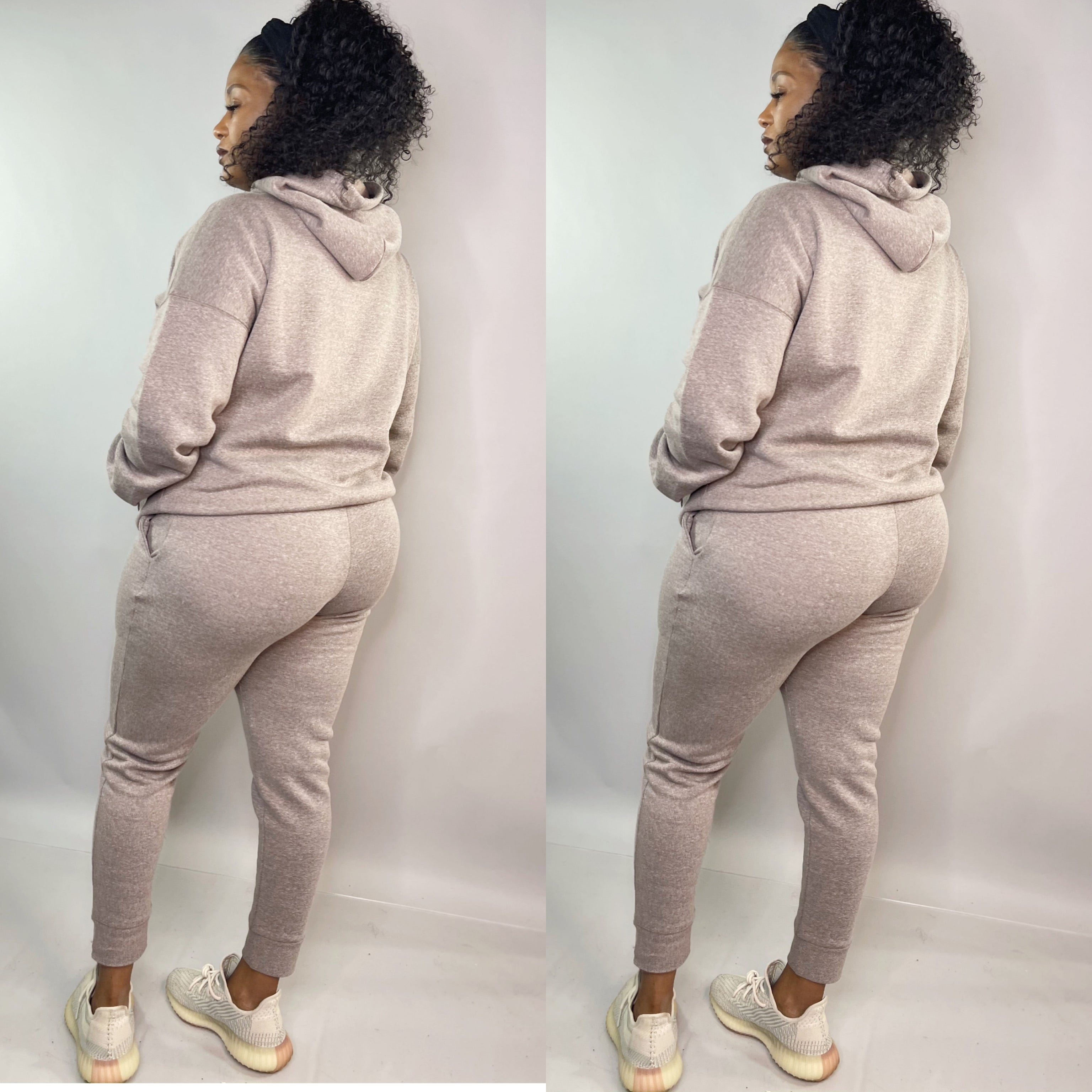 Essential 2pc Jogger Set (Mocha)
