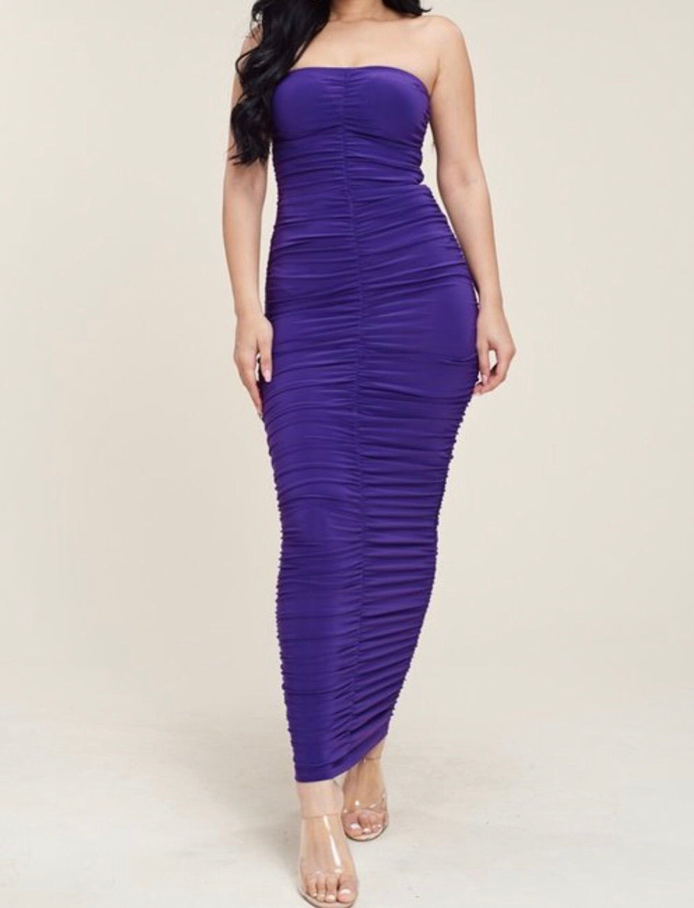 Diana Dress (Purple)