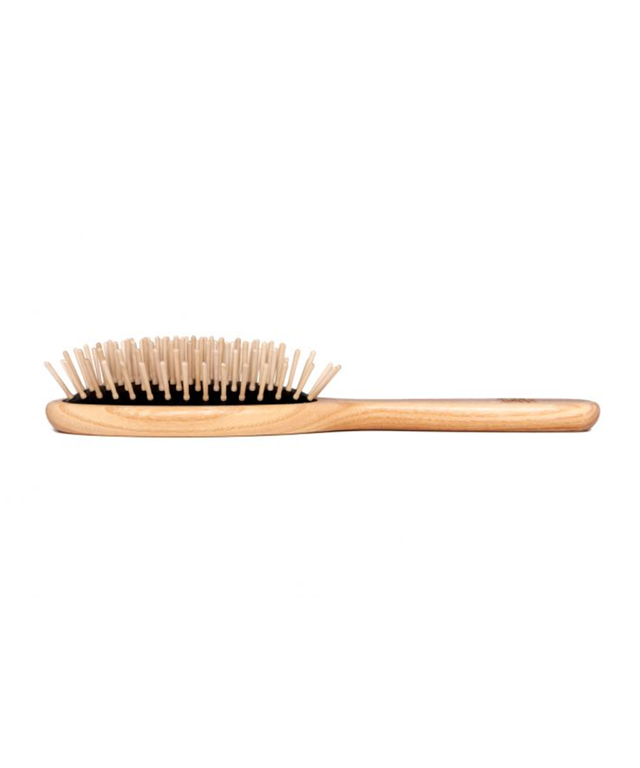 TEK Oval Brush with Wooden Pins
