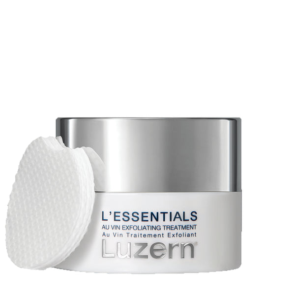 Luzern L'essentials Au Vin Exfoliating Treatment Pads
